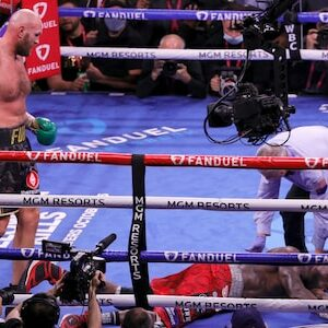 Tyson Fury beat Deontay Wilder with a vicious 11th round knockout to retain his WBC heavyweight title at the T-Mobile Arena in Las Vegas, Nevada, U. S. on Saturday.